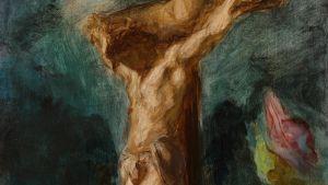 Korsfästelsen av Eugène Delacroix från 1846