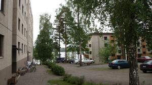 Kerrostaloja Katumalla, Hämeenlinnassa