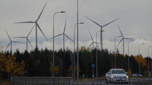 Kärnkraftsbygget gav också vindkraft till Pyhäjoki