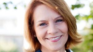 Christel Björkstrand är generalsekreterare för Finlands Svenska Idrott r.f.