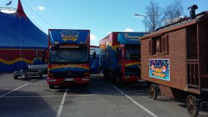 Cirkus Finlandia inleder säsongen i Karis