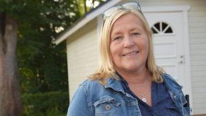 Elisabet Ehrstedt är rektor för Katarinaskolan i Karis.