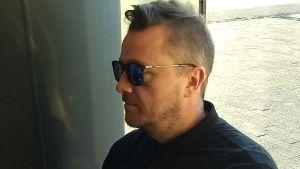 Den isländske författaren Steinar Bragi