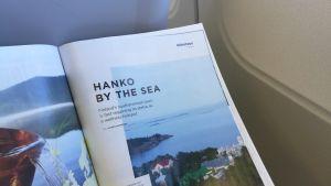 Tidningen Blue Wings har ett reportage om Hangö.