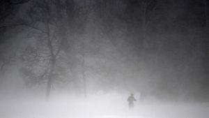 Storm på Tour de Ski.