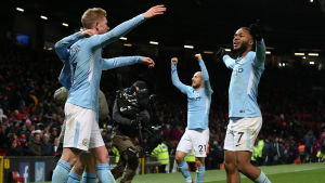 Manchester Citys spelare har haft orsak att fira i höst.