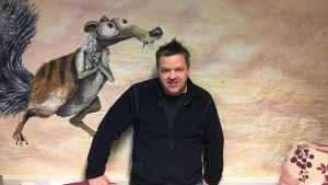 Patrick Nyholm är individuell handledare för långtidsarbetslösa