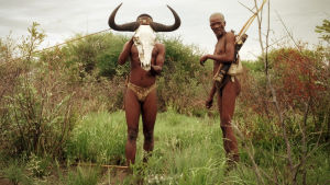 Metsästäjiä Kalaharilla