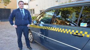 Taxichaufför Dan Andersson.