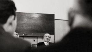 Nazisten och filosofen Martin Heidegger 1961