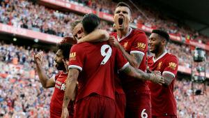 Liverpool jublar.