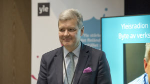 Lauri Kivinen Ylen tiedotustilaisuudessa, Laurin info 25.01.2018