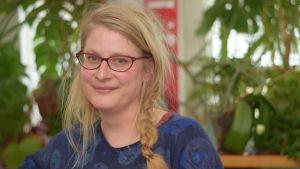 En kvinna som heter Anni Pöyhtäri.