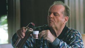 Jack Nicholson elokuvassa Nyt tai ei koskaan (The Bucket List).