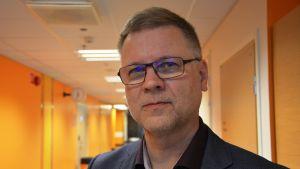 Auvo Rauhala, chefsöverläkare på Vasa centralsjukhus.