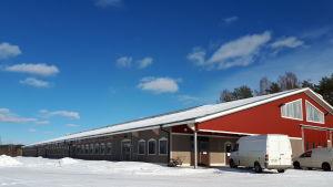 Fähuset vid Nymans Lantbruk i Småbönders.