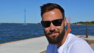 Tim Sparv i Vasa sommaren 2018.