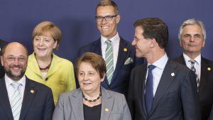 EU-ledare i Bryssel 2014