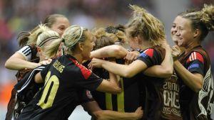 Tysklands damer firar.