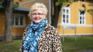 Kommundirektören i Lappträsk Tiina Heikka