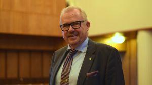 Ragnar Lundqvist, Raseborgs stadsdirektör