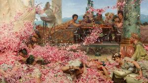 Heliogabalus rosor, målning av den brittiska 1800-tals konstnären Lawrence Alma - Tadema.