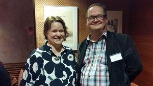 Lotta Hämeen-Anttila och Sami Munther