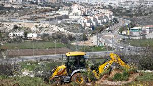 Israelisk bosättning på Västbanken