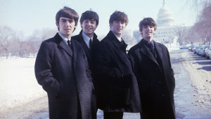 The Beatles Amerikassa. Arkistokuva Ron Howardin ohjaamasta dokumenttielokuvasta The Beatles: Eight Days A Week (2016).