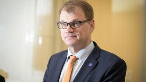 Statsminister Juha Sipilä.