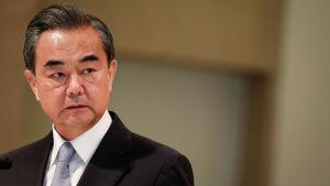 Kinas utrikesminister Wang Yi.