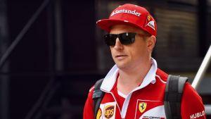 Kimi Räikkönen, Spa 2017.