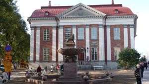 gamla huvudbiblioteksbyggnaden i Åbo