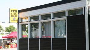 Taxistation i Borgå
