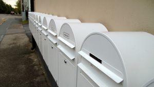Postlådor i Vasa.