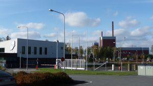 Kärnkraftverken i Olkiluoto i höstskrud
