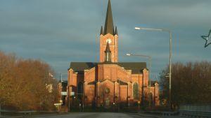 solbelyst lovisa kyrka