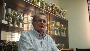 Jan-Gösta Westerlund har korats flera gånger till finländsk mästare i handboll, såväl som spelare och som tränare.