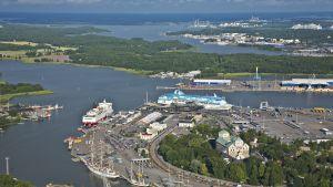 Passagerarhamnen i Åbo
