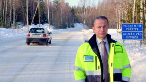 Direktör Anders Östergård konstaterar att pengarna inte räcker till för att upprätthålla vägnätet.