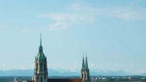 Schloss Nymphenburg i München, byggt av den sista Bayerska kungen Ludwig II