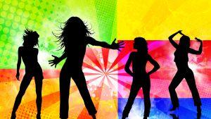 skuggor som dansar