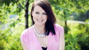 Evelina bloggar och driver företag