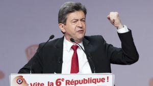 Jean-Luc Mélenchon i Paris 19.04.12
