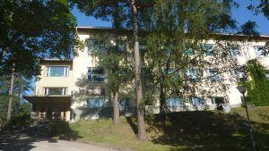 Pojo kyrkobys finskspråkiga skola