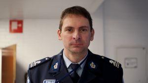 Skolansvarige Poliskommisarie Kjell Nylund.