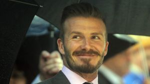 David Beckham, sommar 2012
