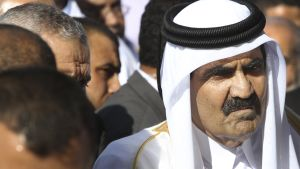 Emir Hamad bin Khalifa Al Thani av Qatar