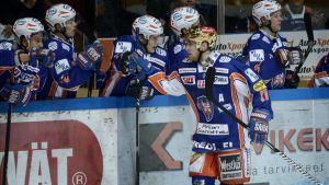 Ville Nieminen gjorde det första målet