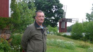 Johan Åberg, juli 2013